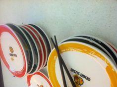 Rainbow plates