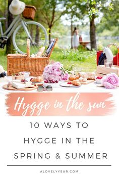 Ways to Hygge in Spring and Summer Hygge isn't just for the colder months! Here are 10 ways to hygge in the spring and summerHygge isn't just for the colder months! Here are 10 ways to hygge in the spring and summer Konmari, Summer Hygge, What Is Hygge, Fresco, Vie Simple, Vintage Porch, Farmers Market Recipes, Hygge Life, Home Flowers