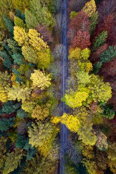 0rient-express:  Polish Autumn | by Kacper Kowalski.