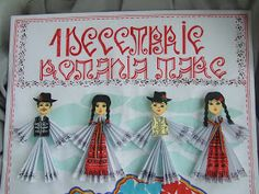 Origarden: 1 DECEMBRIE - ZIUA ROMÂNIEI Kindergarten Activities, Activities For Kids, Preschool, Projects For Kids, Art Projects, 1 Decembrie, Diy And Crafts, Crafts For Kids, Folk Embroidery