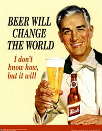 """""""A fine beer may be judged with just one sip, but it's better to be thoroughly sure.""""  (Old Czech Proverb)"""