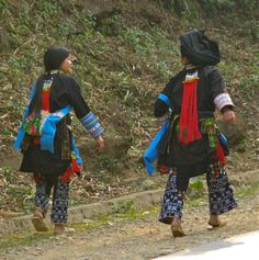 Dzao/Yao people, northern Vietnam