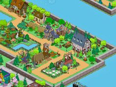 Simpsons Springfield, Springfield Tapped Out, The Simpsons Game, Cartoon Network Adventure Time, Adventure Time Anime, Far Side Comics, The Far Side, The Big Four, Games