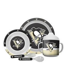 Pittsburgh Penguins Dinner Set by Mustang Drinkware Inc. #zulily #zulilyfinds