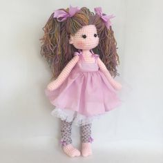 Crochet doll by nathaliesweetstitches