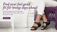 Find your feel good fit for breezy days ahead