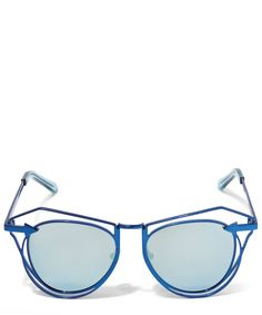 313412e5c407 Karen Walker Marguerite Aviator Sunglasses