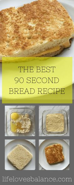 The Best 90 Second Bread