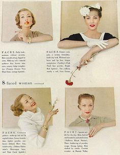 Jessica Ford, Remaking your Face - January 1957