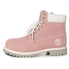 Botas Timberland Mujeres Timberland 6 Inch Boots white/pink