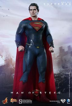 Man of Steel: Superman Sixth Scale Figure - Hot Toys - SideshowCollectibles.com