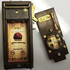 Borobudur Box Mod - Steampunk - Hand Made Authentic EXTREME RARE Mechanical Mod