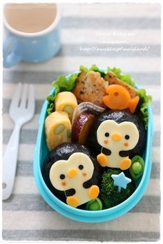 Penguin bento Post your bento pics with #myanimelife in the description and they'll appear on myanimelife.com