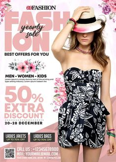 Download the Free Fashion Sale Promotion Flyer Template!