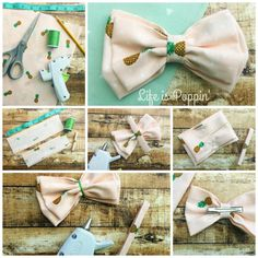 Make Your Own Fabric Bows - Easily! - Life is Poppin' diy fabric Make Your Own Fabric Bows - Easily! - Life is Poppin' Fabric Hair Bows, Diy Hair Bows, Making Hair Bows, Fabric Flowers, Ribbon Hair, Fabric Bow Tutorial, Hair Bow Tutorial, Flower Tutorial, Baby Girl Bows
