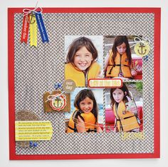 A Day at the Lake by Wendy Sue Anderson - Scrapbook.com