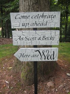 Items similar to Directional Wedding Sign Decor Quote Vintage Finish on Etsy Wedding Letters, Wedding Signs, Wedding Stuff, Wedding Ideas, Wedding Bells, Wedding Decorations, Wedding Inspiration, Wedding Direction Signs, Wedding Ceremony Arch