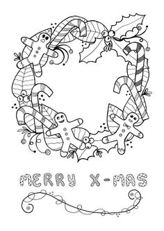 25 best christmas coloring pages images