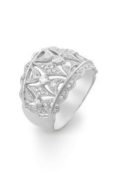 Bony Levy 'Vintage' Diamond Band Ring (Nordstrom Exclusive) available at #Nordstrom
