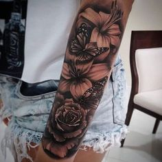 Today, millions of people have tattoos. From different cultures to pop culture enthusiasts, many people have one or several tattoos on their bodies. While a lot of other people have shunned tattoos… Dope Tattoos, Trendy Tattoos, Leg Tattoos, Body Art Tattoos, Small Tattoos, Tattoo Arm, Tatoos, Tattoos Pics, Flame Tattoos