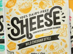 Sheese rebrands on Packaging of the World - Creative Package Design Gallery