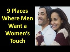 where do men want to be touched