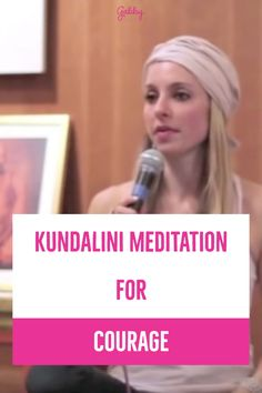 This Kundalini meditation led by Gabby Bernstein will give you courage and confidence. This meditation is perfect for beginners and I know will help your mindfulness practice today. Click through to start watching instantly! Guided Mindfulness Meditation, Kundalini Meditation, How To Calm Anxiety, Stress And Anxiety, Calming Anxiety, Self Development Books, Personal Development, How To Start Meditating, Reiki Therapy
