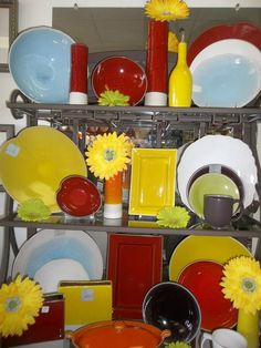 Add some color to your life with Jars Pottery!!