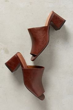 Jeffrey Campbell Perpetua Slides #anthropologie