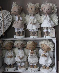 Ароматизированные куклы ручной работы. Ярмарка Мастеров - ручная работа. Купить Ангелочки. Handmade. Комбинированный, авторская работа, шерсть