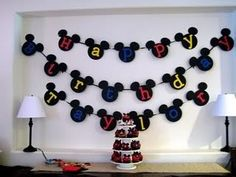 Mickey Mouse Party Decorations on Parties How To Make Mickey Minnie Mouse Ears For A Party Decorations