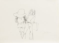 John Lennon Honeymoon 1969 22 X 29 inches