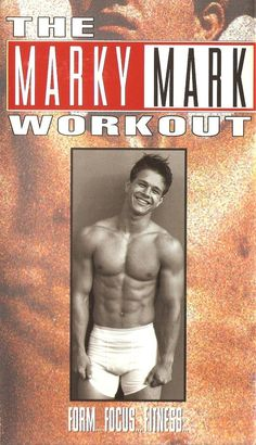 Mark Wahlberg: | 12 Ridiculous Celebrity Workout Videos You Probably Didn't KnowExisted 80's and 90's  if you were famous you had a workout tape