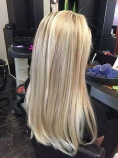 Golden Blonde Balayage for Straight Hair - Honey Blonde Hair Inspiration - The Trending Hairstyle Balayage Straight Hair, Balayage Hair Blonde, Balayage Hairstyle, Blonde Highlights, Full Highlights, Blonde Hair Looks, Brown Blonde Hair, Blonde Hair Shades, Light Blonde Hair