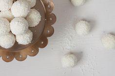 Bolitas de coco y limón | Cocinar en casa es facilisimo.com