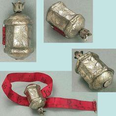 Antique-Georgian-Sterling-Silver-Tape-Measure-English-Circa-1800-20