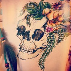 My latest design :) #skull #flowers #nature #beautiful #bones #tattooart #tattoodesign #tattoo #inked #inkstagram #inspiration #motivation #feather @dreamcatcher #drawing #drawsofinsta #indie #gypsy #art #imagination #creative #vintage #folk #arttherapy #hippy #hippie #gypsy #traveller