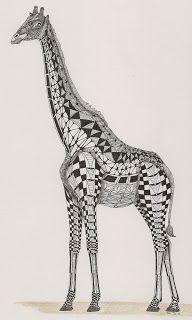 giraffe Template van Ben Kwok Adri Adri