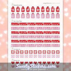 Period Tracker Planner Stickers  Planner Life