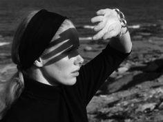 Liv Ullman in Persona, 1966.