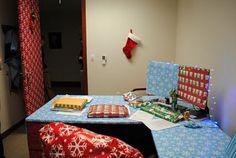 Art of Trolling: gift wrapped desk