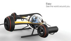 A spy under the sea, this is what Espy 360 ROV (Remote Operated Vehicle) all about. It monitors marine environment through underwater observations. This concept Multi Camera, Gopro Camera, Drone Technology, Futuristic Technology, Drones, Underwater Drone, Electronics For You, Remote Sensing, Marine Environment