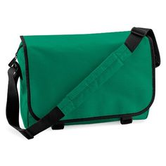 BAGBASE MESSENGER BAG IN 12 GREAT COLOURS (KELLY GREEN) ** Check out the image by visiting the link.