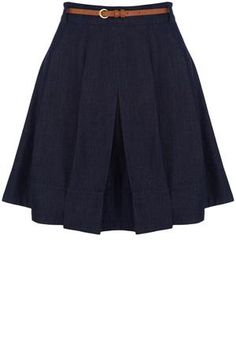 Oasis Skirts   Denim Belted Denim Skirt   Womens Fashion Clothing   Oasis Stores UK