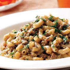 Hamburger Buddy   25 Easy Pasta Recipes   Quick & Easy Recipes   Food   Disney Family.com