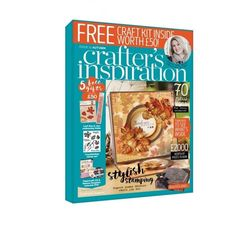 CRAFTERs COMPANION INSPIRATION FALL 2016 Magazine and Craft Kit !!  #11 EUROPeAN…