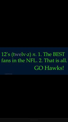 Love my #Seahawks :-) #12thMan until the day I die :-)