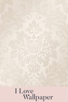Sofia is a simple, defined yet completely glamorous collection. Set on a sumptuous textured base, this timeless damask design is brought to life with areas of metallic and touches of real glitter. This contemporary taupe finish oozes finesse and is suiting to most interior colour schemes. Damask Wallpaper, Love Wallpaper, Interior Color Schemes, Colour Schemes, Colorful Interiors, Taupe, Metallic, Glitter, Romantic