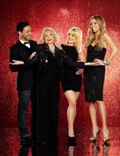 The Fashion Police- I love Joan Rivers & the Fashion Police (Giuliana Rancic, Kelly Osborne & George Kotsioplis) take on fashion every week. The good, bad and the Fash-Hos!