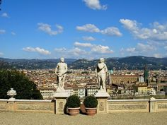 Gardens in Florence with a View: Bardini, Boboli, Rose and Iris Gardens in Florence
